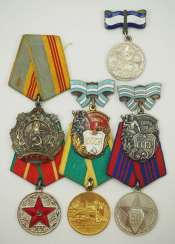 Soviet Union: Lot of awards. Various. Condition: II