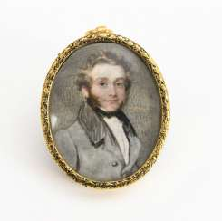Miniature: Portrait of a gentleman