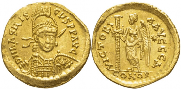 ROMAN EMPIRE SOLIDUS 475
