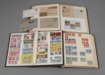 Stamps and documents of allied occupation