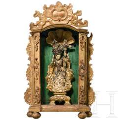 Baby Jesus in a Rococo shrine, South German or Bohemian, around 1760