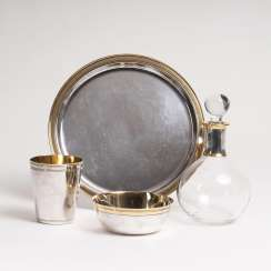 Silver offering-Set with carafe