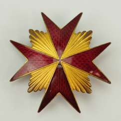 Russia: badge of the Imperial guard Cossack Regiment of his Majesty.