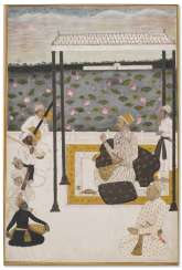 A NOBLEMAN ENTERTAINED BY MUSICIANS