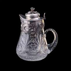 Very rare large jug. Faberge