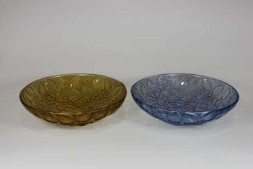 Pair Of Glass Bowls Art Deco