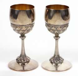 Pair of WMF wine cups
