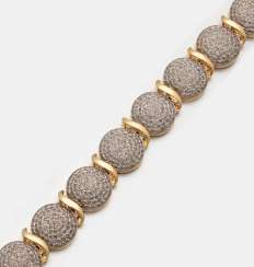 Decorative diamond bracelet