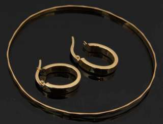 BANGLE & HOOP EARRINGS