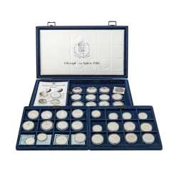 Olympic games 1988 - box with 40 coins,
