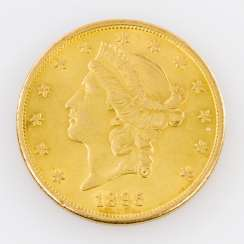 USA / GOLD - 20 Dollar Liberty Head 1895