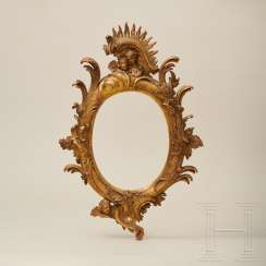 Fine rococo frame, South German, 18th century