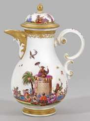 Coffee pot with Hoeroldt-Chinoiserien
