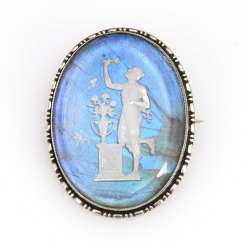Brooch with Relief around 1900
