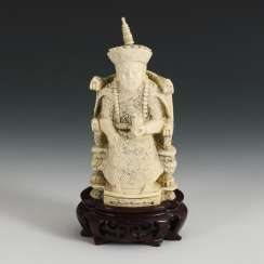 Imperial figure - ivory