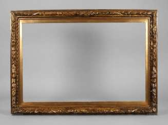Baroque gold stucco frame around 1700