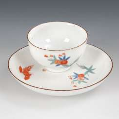 Coupling with kakiemon painting, MEISSEN.