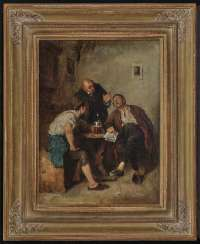 Ernst Karl Georg Zimmermann - dispute at the pub table