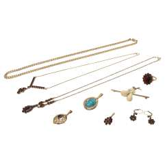 Jewelry mixed lot of 9 pieces,