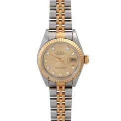 ROLEX Oyster Datejust women's watch, Ref. 69173, CA. 1980/90s.