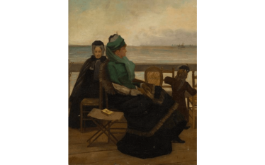 FRENCH SCHOOL CIRCA 1880 ENTOURAGE Of ALFRED STEVENS