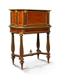 A FRENCH ORMOLU-MOUNTED MAHOGANY JARDINIERE