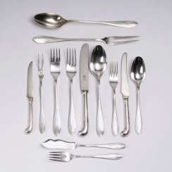Extensive cutlery in Darmstadt style model 3001 and 3001 1/2