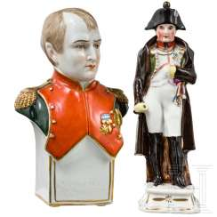 Napoleon I - two porcelain figures, 19th / 20th centuries century