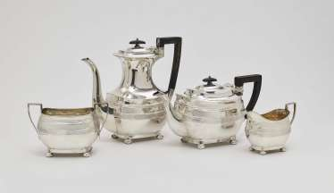Coffee service, four pieces