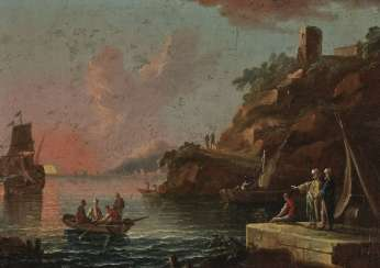 Vernet, Claude-Joseph, Succession - Harbor Scenes