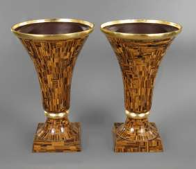 Pair of magnificent portal vases