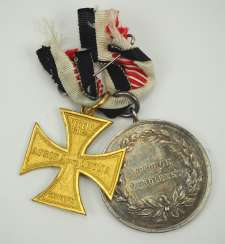 Decorations of a veteran of the South West Africa campaign.