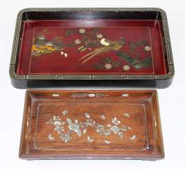 Wooden trays Japan.