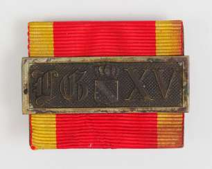 Baden: the service award buckle, for 15 years.