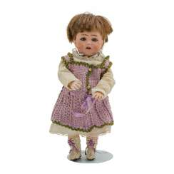 SIMON & HALBIG small porcelain head doll, around 1912,