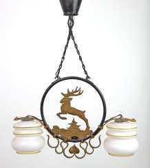 hunting ceiling lamp