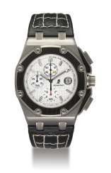AUDEMARS PIGUET, TITANIUM AND CARBON ROYAL OAK OFFSHORE JUAN PABLO MONTOYA, NO. 0299/1000
