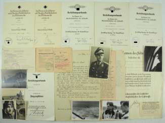 Deed estate of a Lieutenant of the 3./ Fighter squadron 2 IMMELMANN.
