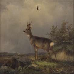 ANIMAL and hunting painter 19. Century,