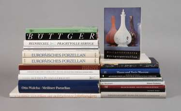 Large Collection Of Literature, Porcelain