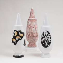 Three vases from the series 'Tendentse 100%'