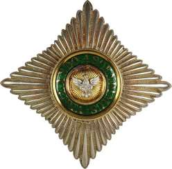 Saxon house order of the White Falcon,
