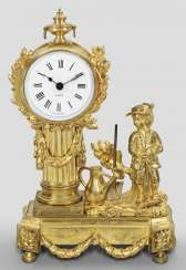 Small Louis XVI table clock