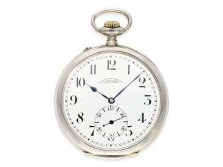 Pocket watch: a rare glashuette deck Watch of the German Navy, A. Lange & Söhne, No. 93562, CA. 1920