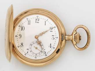 Gold Man's Pocket Watch