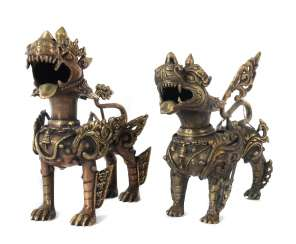 2 Foo Dogs, South East Asia, 20