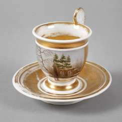 View Cup with winter landscape