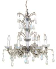 Murano Crystal Chandeliers.