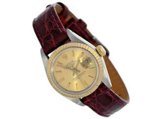 Wrist watch: high quality vintage ladies watch from Rolex in a very good condition, Lady-Datejust, Ref.69173 steel & Gold, year of built 1988