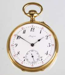 gold pocket watch *Longines*